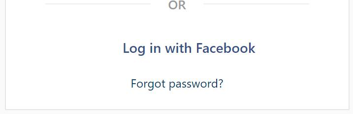 log in Instagram with facebook