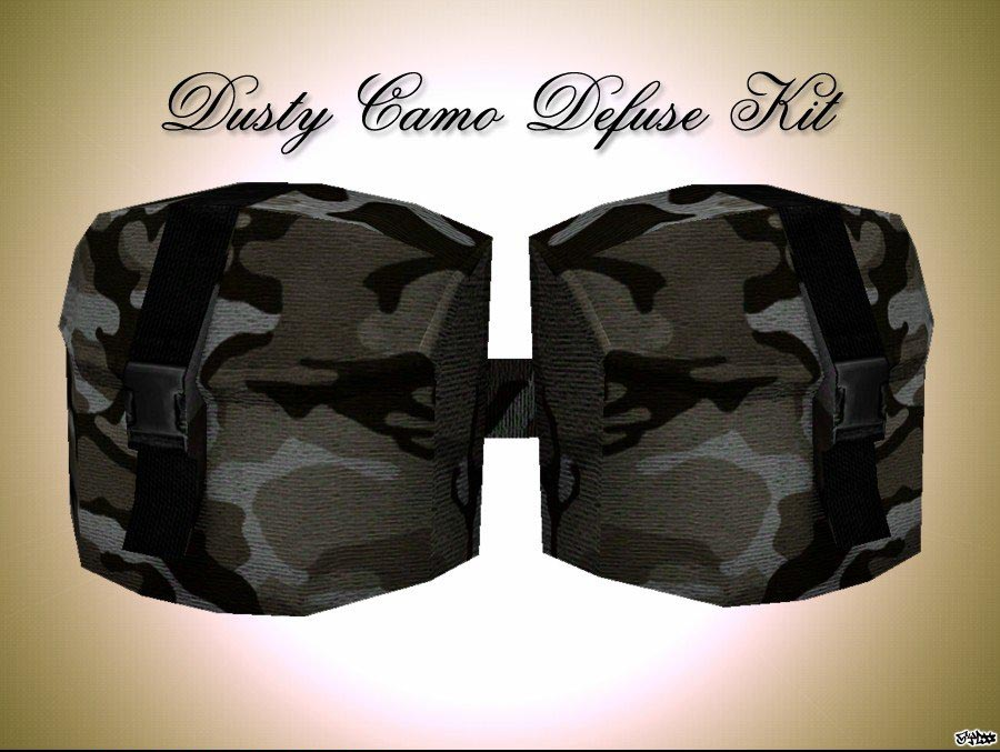 Dusty Camo Defuse Kit для css
